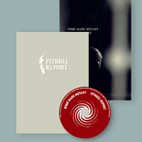 Pitbull Report CD + Kniha